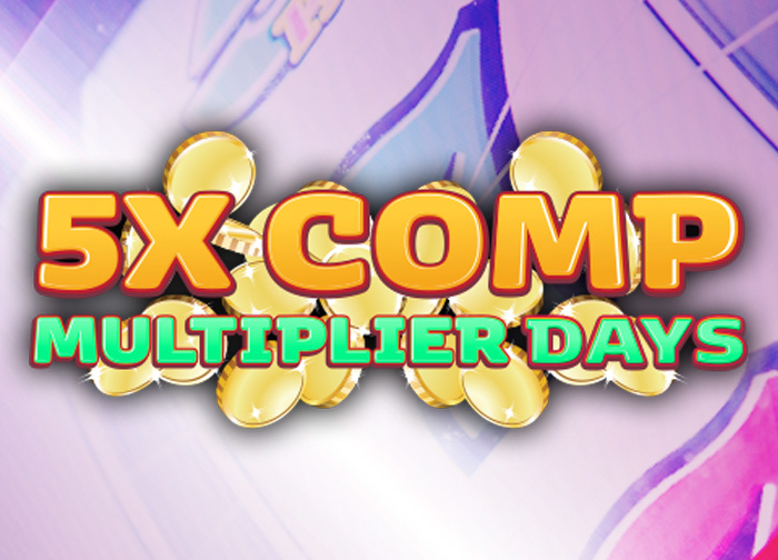 5X Comp Multiplier Days