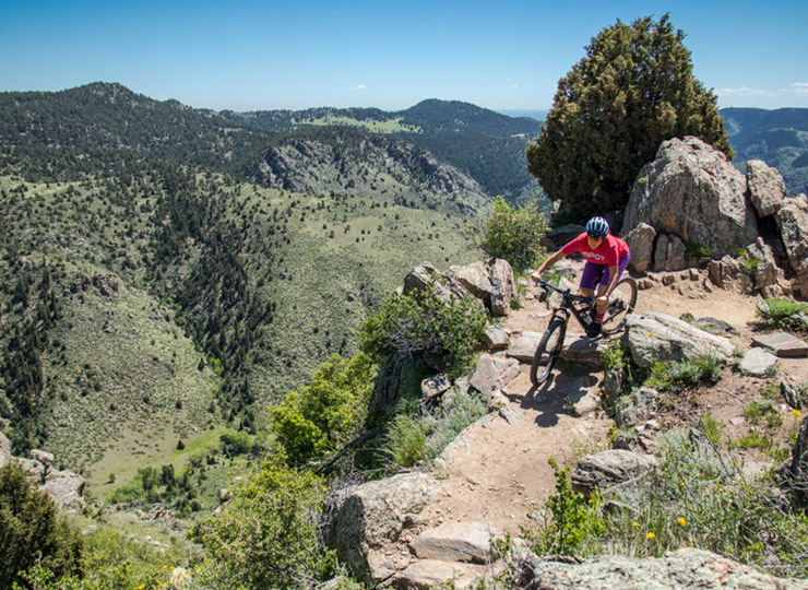 Mountain Lion Mountain Biking Trail