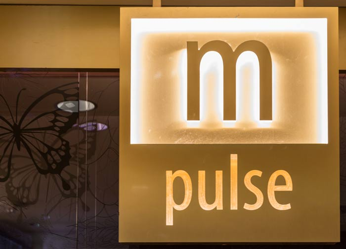 M Pulse Sign