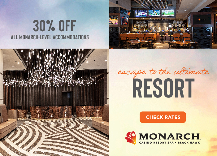 30% Off Monarch Level Rooms